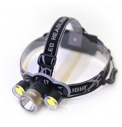 Фонарь налобный SWAT NK-H1203 USB