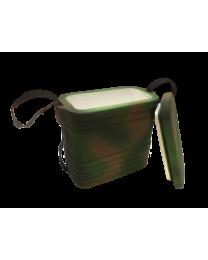 Контейнер ппластовый для рыболов. наживки (комуфляж) 0,4 (20 шт/кор)