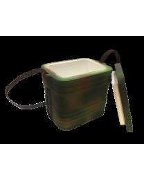 Контейнер ппластовый для рыболов. наживки (комуфляж) 0,6 (16 шт/кор)